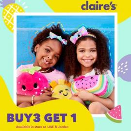 Claire's offer