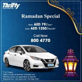Thrifty Car Rental offer