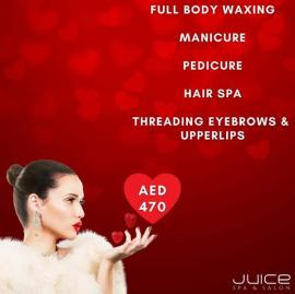 Juice Spa & Salon offer