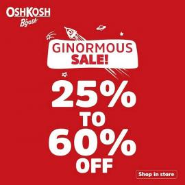 OshKosh B'gosh offer
