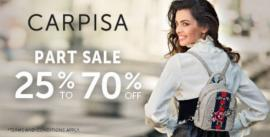 Carpisa offer