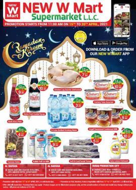New W Mart Supermarket offer