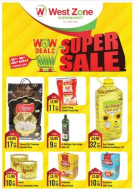 West Zone offer