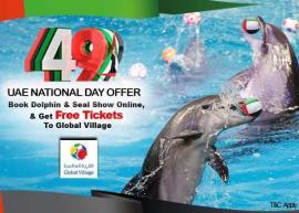 Dubai Dolphinarium offer