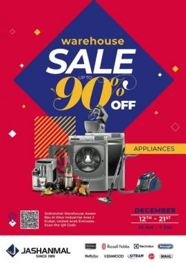Jashanmal Warehouse offer