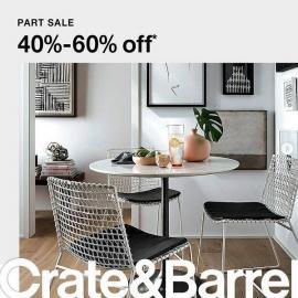 Crate&Barrel offer