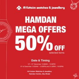 Al-Futtaim Watches & Jewellery offer