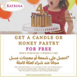 Katrina Bakery offer