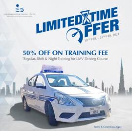 Galadari Motor Driving Center offer