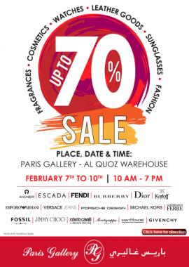 Paris Gallery offer