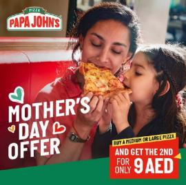 Papa John's Pizza offer