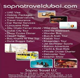 Sapna Travel offer