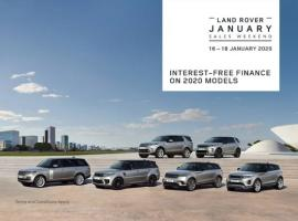 Land Rover offer