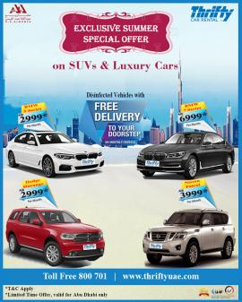 Thrifty Car Rental offer