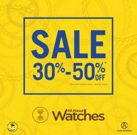 All About Watches offer