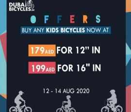 Dubai Bicycles offer