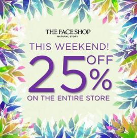 The Face Shop offer