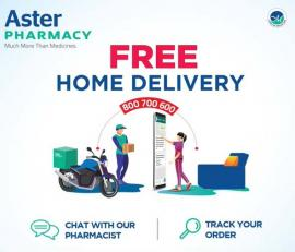 Aster Pharmacy offer