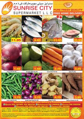 Sunrise City Supermarket offer