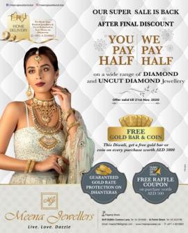 Meena Jewellers offer