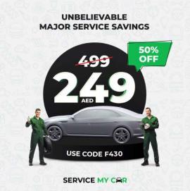 Servicemycar.ae offer