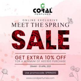 Coral Perfumes offer