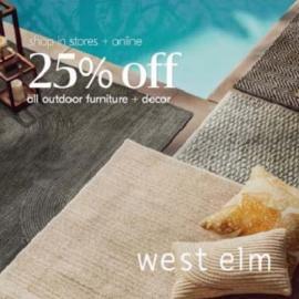 West Elm offer