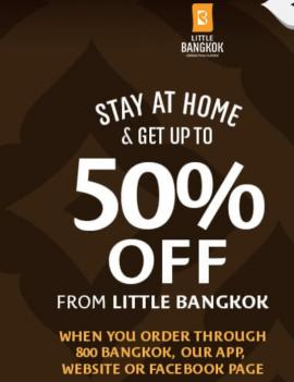 Little Bangkok offer