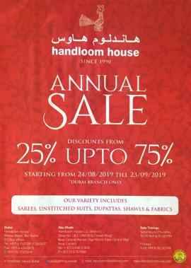 Handloom House offer