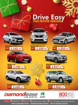 Diamondlease Car Rental offer